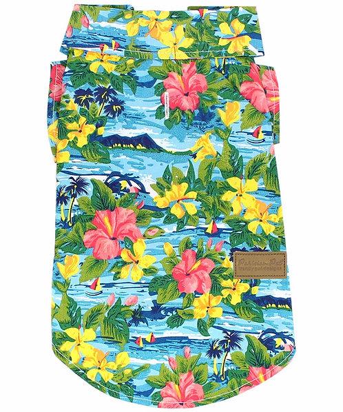 Hawaiian Camp Shirt from Parisian Pet®