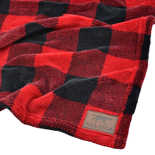 Tall Tails Hunter's Plaid Dog Blanket from Pet Food Experts