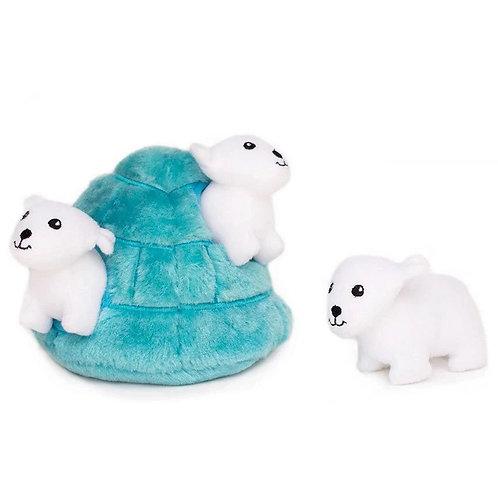 Polar Bear Igloo Burrow by Zippy Paws
