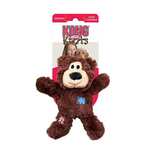 KONG® Wild Knots Bears Dog Toy - Assorted Colors