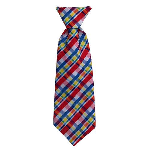 Preppy Plaid Long Tie by Huxley & Kent