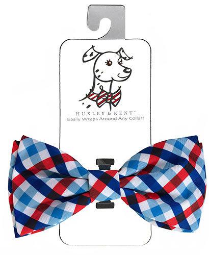 Picnic Check Bow Tie