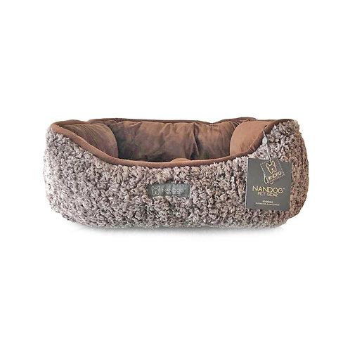 REVERSIBLE CUDDLER PET BED from Nandog Pet Gear