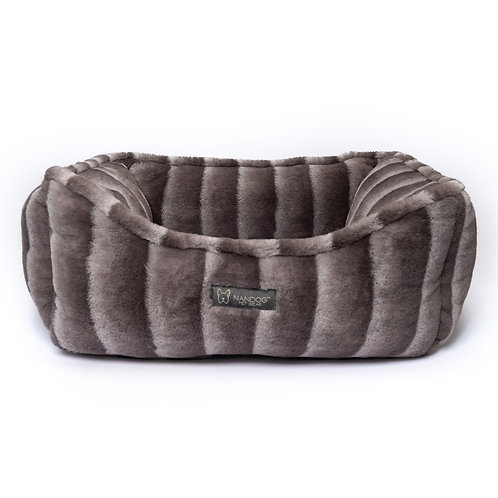 NANDOG CLOUD REVERSIBLE CHINCHILLA DOG PET BED from Nandog Pet Gea