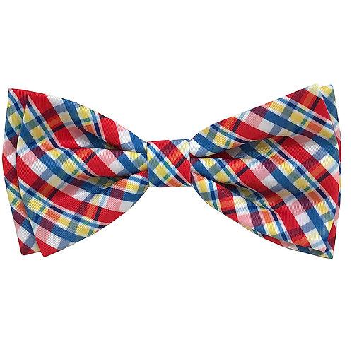 Preppy Plaid Bow Tie by Huxley & Kent