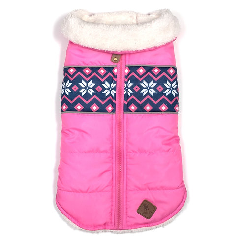 SALE!!!    Aspen Puffer Pink from The Worthy Dog