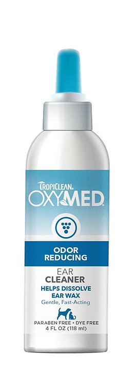 TropiClean OxyMed Odor Reducing - Ear Cleaner 4 oz