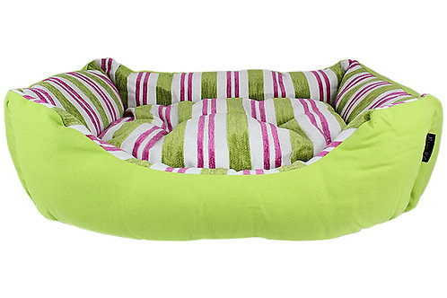 SALE!!!   Canvas Striped Bed - Green