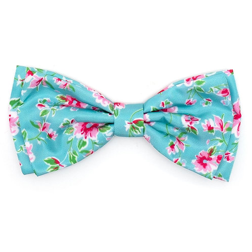 Watercolor Floral Bow Tie from The Worthy Dog