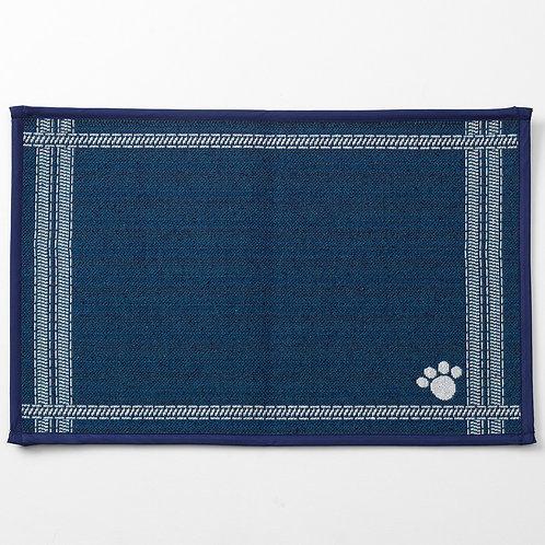 Mattress Ticking, Navy Tapestry Placemat