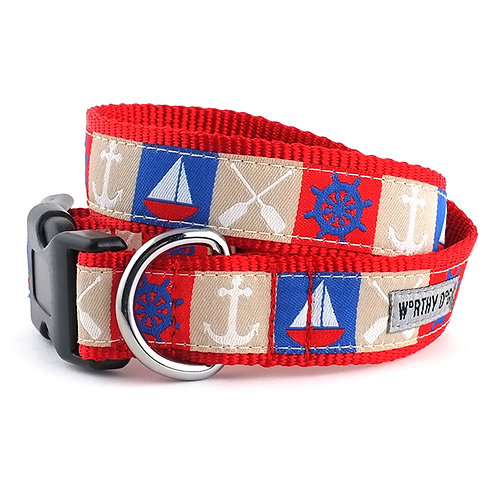 Ahoy Collar & Lead Collection from The Worthy Dog