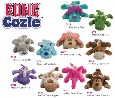 Kong Cozie Dog Toys from Gralen Company