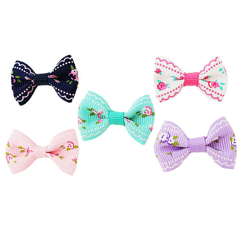 Floral Pattern Bow