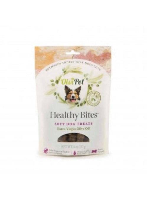OlviPet® Healthy Bites Olive Oil Based Soft Treats for Dogs 6 oz, PDQ