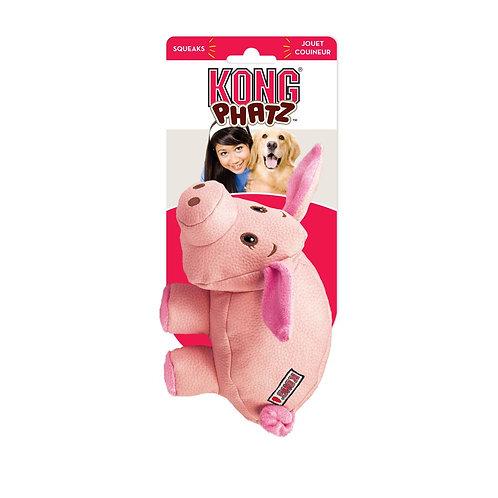KONG® Phatz™ Pig Dog Toy