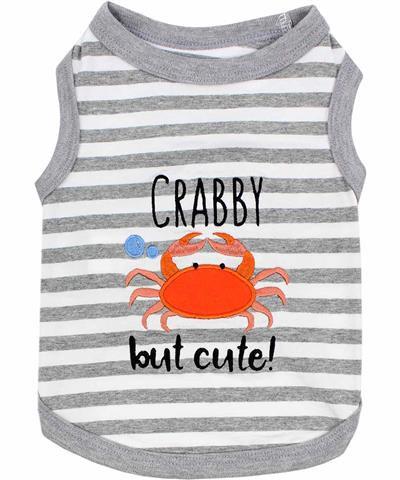 Crabby but Cute Dog T-Shirt
