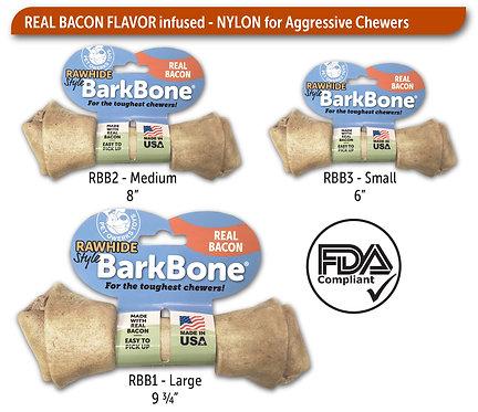Rawhide Bacon BarkBone