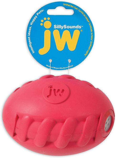 JW Sillysounds Sprial Football from Petmate®