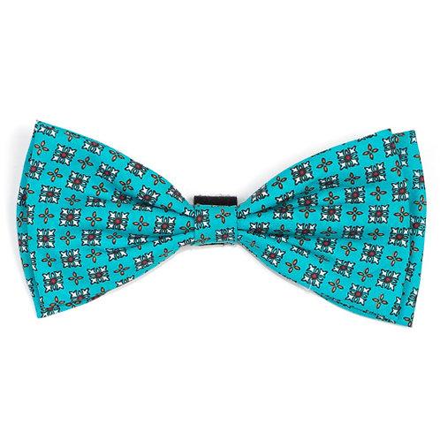 Foulard Turq Bow Tie