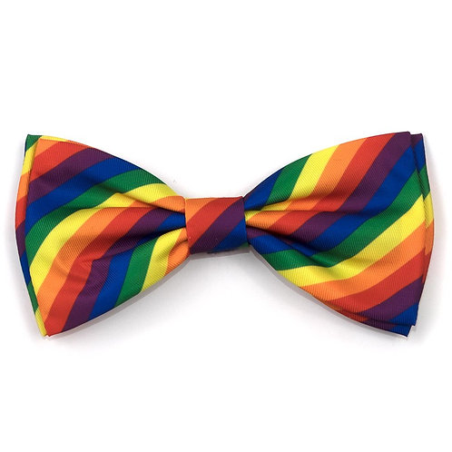 Rainbow Bow Tie from The Worthy Dog