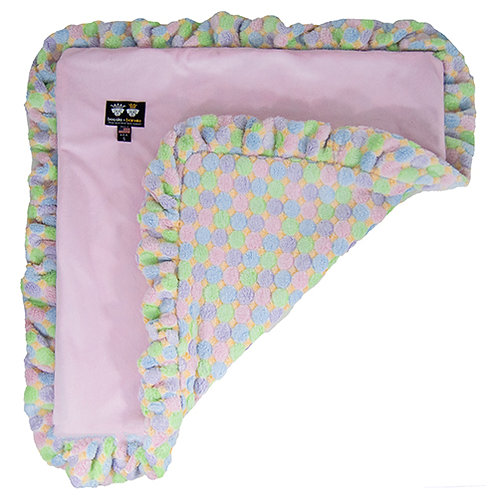 Blanket- Pink Lotus and Ice Cream from Bessie and Barnie