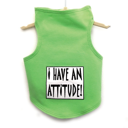 I Have an Attitude Tank In (Red)