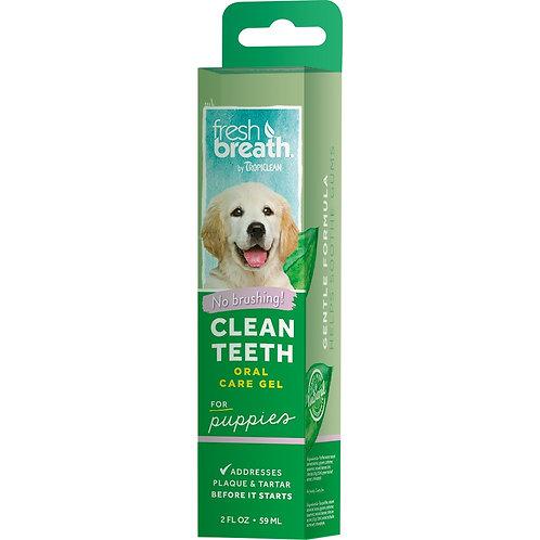TropiClean Fresh Breath Puppy Clean Teeth Gel 2 Oz