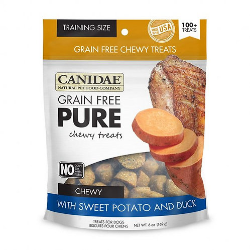 Canidae® Grain Free Pure™ Sweet Potato & Duck Chewy Dog Treats 6 Oz