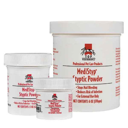 Top Performance® Medistyp Styptic Powder with Benzocaine from Boss Pet/PetEdge