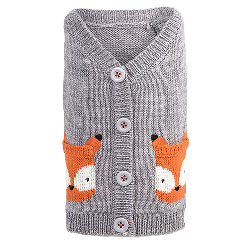 Fox Cardigan from The Worthy Dog