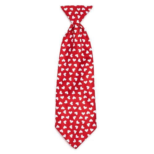 Hearts Neck Tie from The Worthy Dog