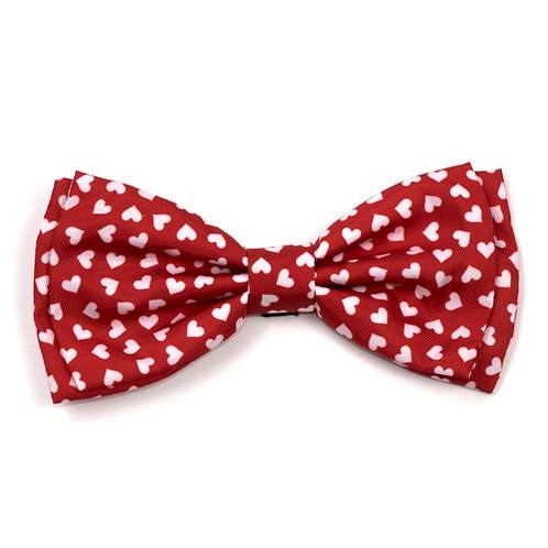 Hearts Bow Tie from The Worthy Dog