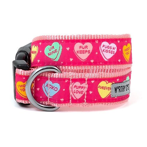 Puppy Love Collar & Lead Collection from The Worthy Dog