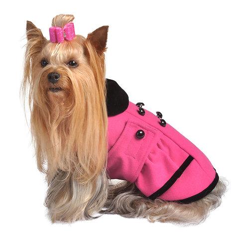 Pink Peplum Coat from Max's Closet, LLC