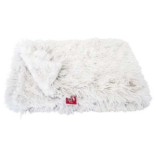 Blanket, Powder Puff in Ivory Small