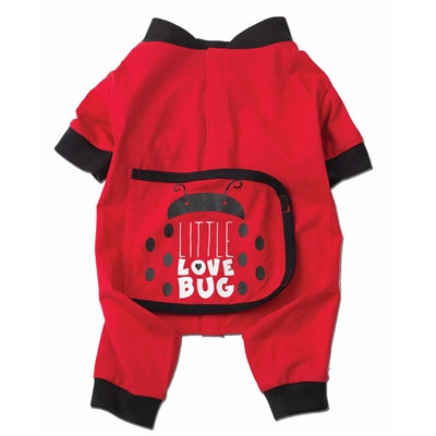 Little Love Bug PJs in Red