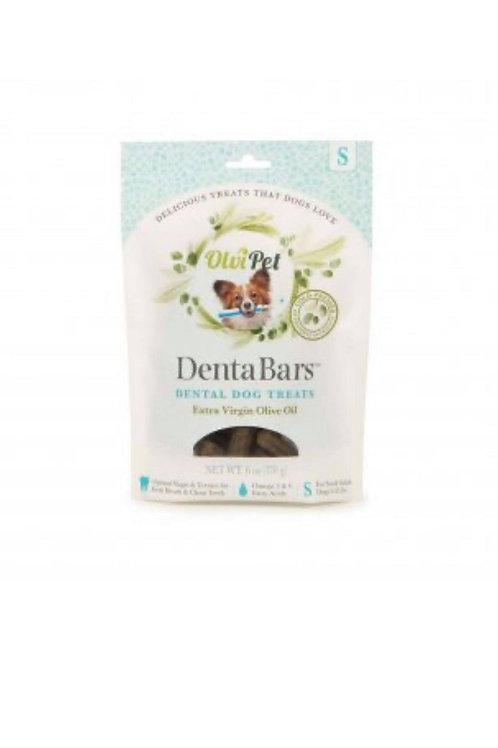 OlviPet® Denta Bars Olive Oil Based Teeth Cleaning Bars for Dogs, Small, 6 oz