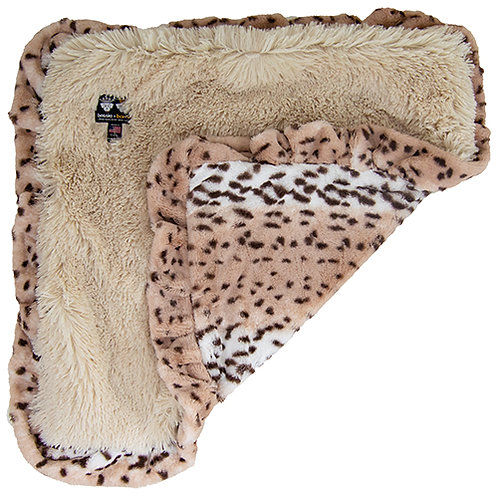 Blanket- Aspen Snow Leopard and Blondie from Bessie and Ba