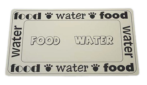"""Food/Water Placemat 11.75"""" x 19"""""""
