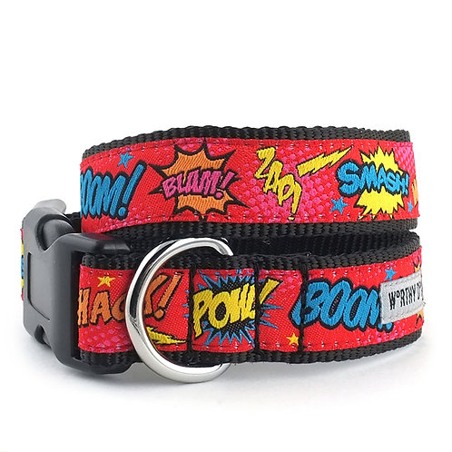 Comic Strip Collar & Lead Collection from The Worthy Dog