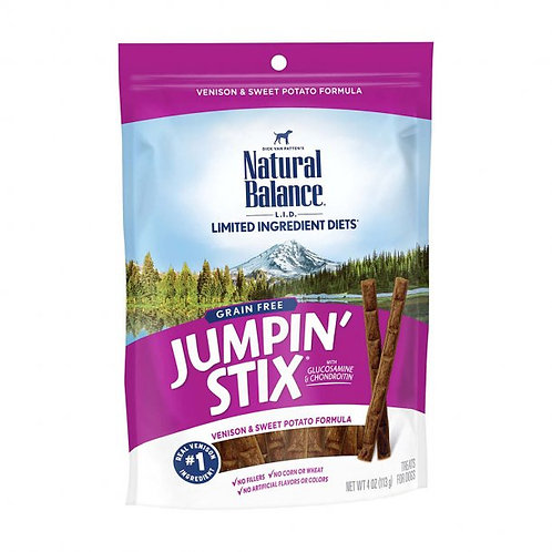 Natural Balance Limited Ingredient Treats® Jumpin' Stix® Grain Free - Venison &