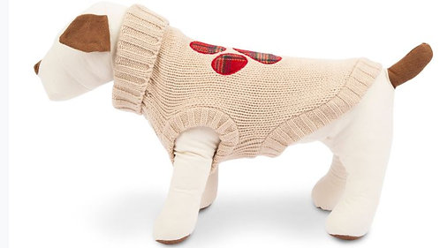 SALE!!!   Plaid Paw Sweater from Harry Barker