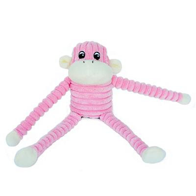 Spencer the Crinkle Monkey Pink/Purple- Small