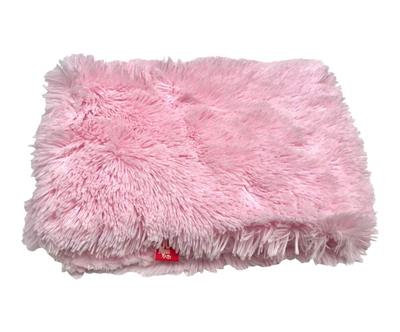 Small Blanket, Powder Puff in Pale Pink
