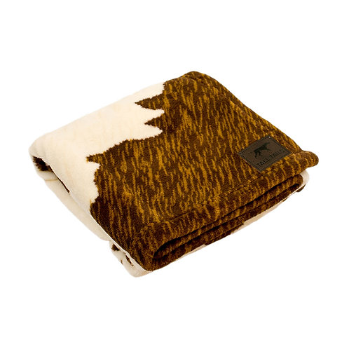 Tall Tails Cowhide Print Dog Blanket from Pet Food Experts