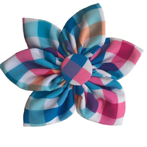 Blue Green Pinwheel by Huxley & Kent