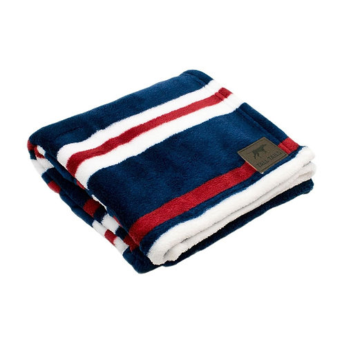 Tall Tails Nautical Stripe Dog Blanket from Pet Food Experts