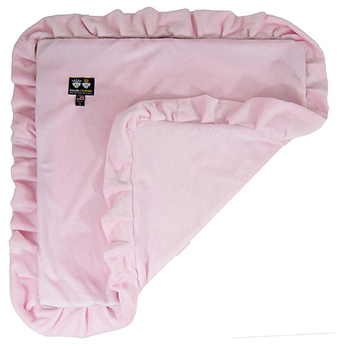 Blanket- Pink Lotus from Bessie and Barnie