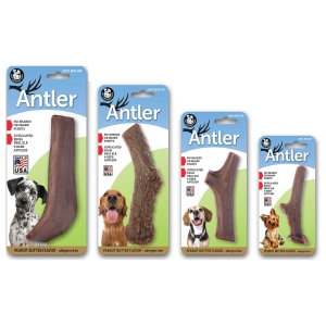 Liver Flavor Nylon Antlers Small