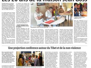 """Retour DNA sur la fête des 20 ans de la Maison Jean Goss et sur la Projection conférence """"Liber"""